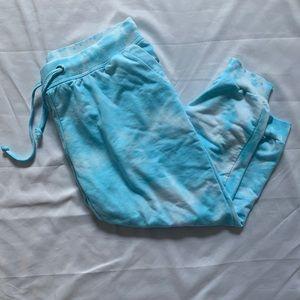 Pants - Blue tie-dye sweats